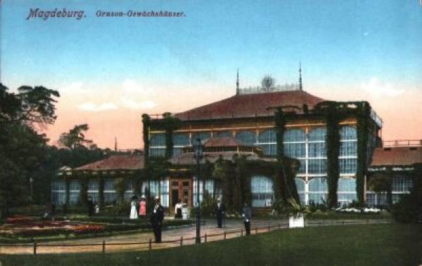 Gruson Gewachshaus Magdeburg Vintagepostcards Archive