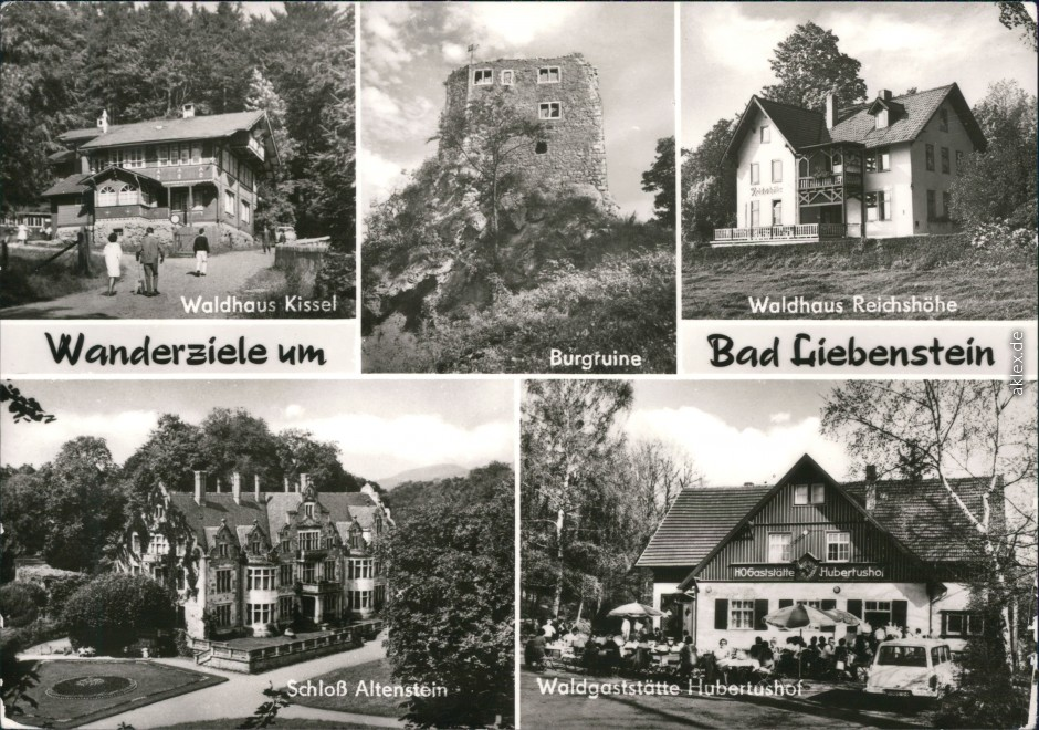 Postcards for places in Thuringia :: VintagePostcards-Archive