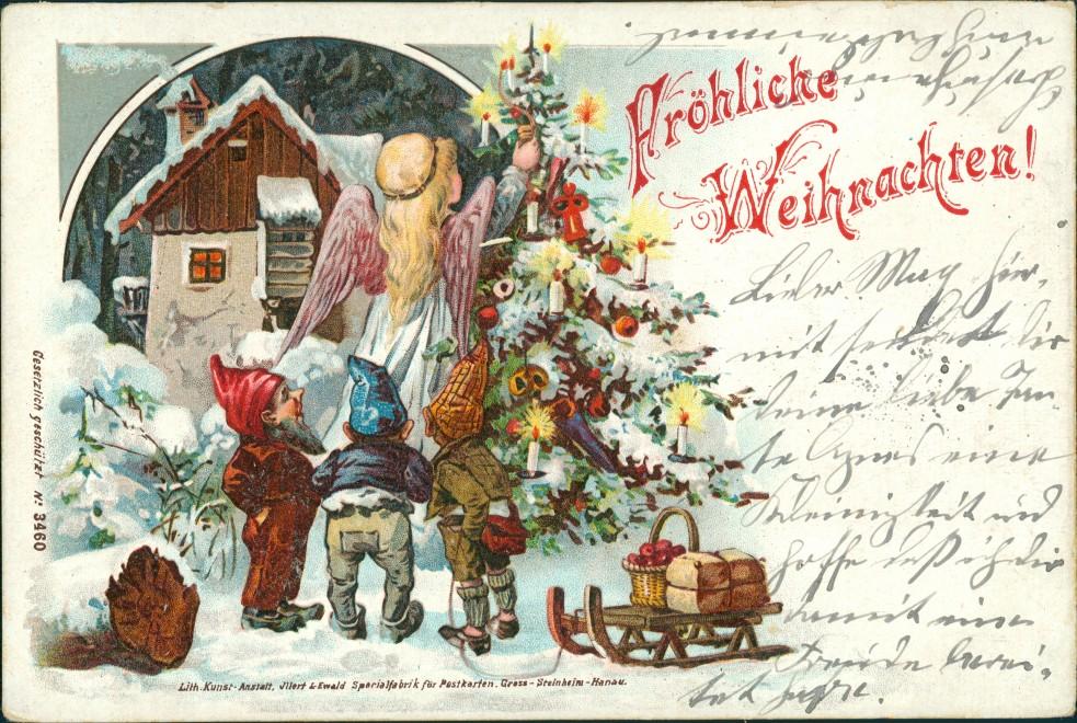 Weihnachten :: Ansichtskarten-Lexikon