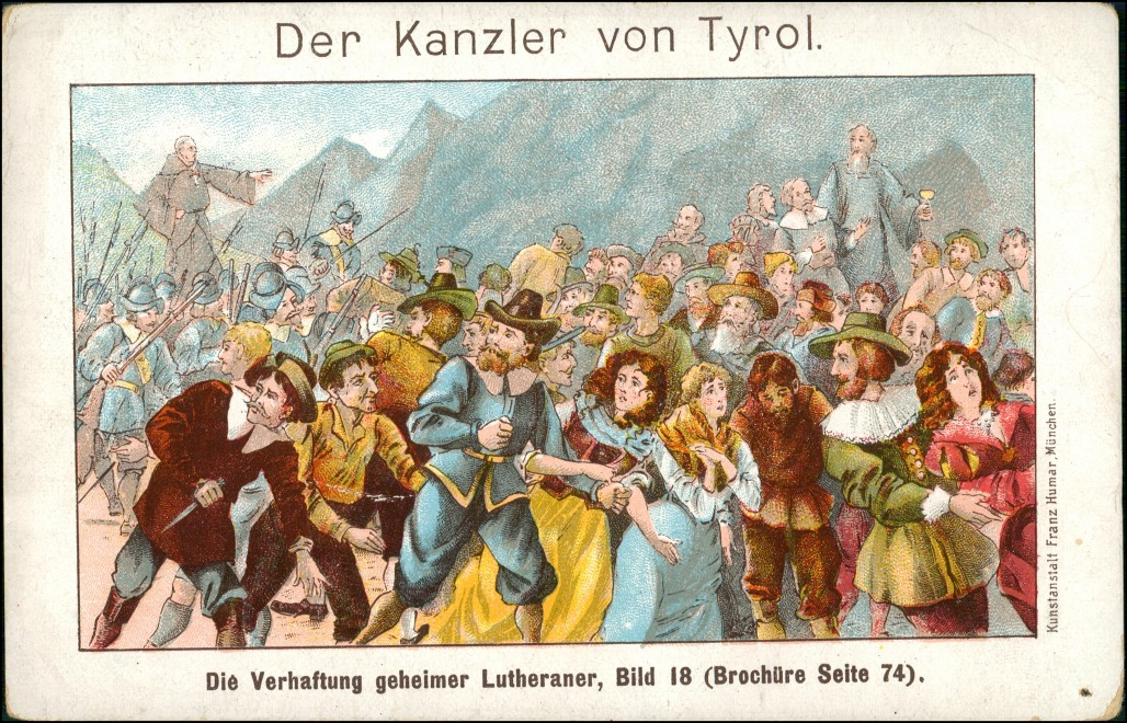 vintage Postcard from 1912: Reklame & Werbung  Tyroler Feigen Caffee Pasing  6::