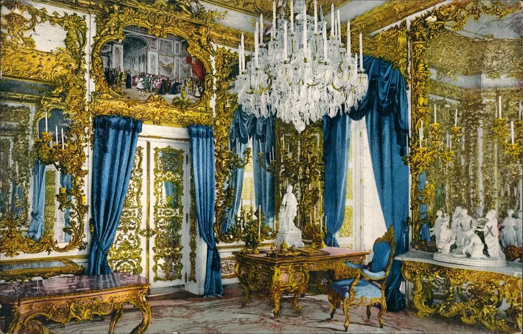 Schloss Linderhof Collections Vintagepostcards Archive